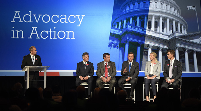 Advocacy in Action Panelists and Moderator at ThoughtSpot 2017